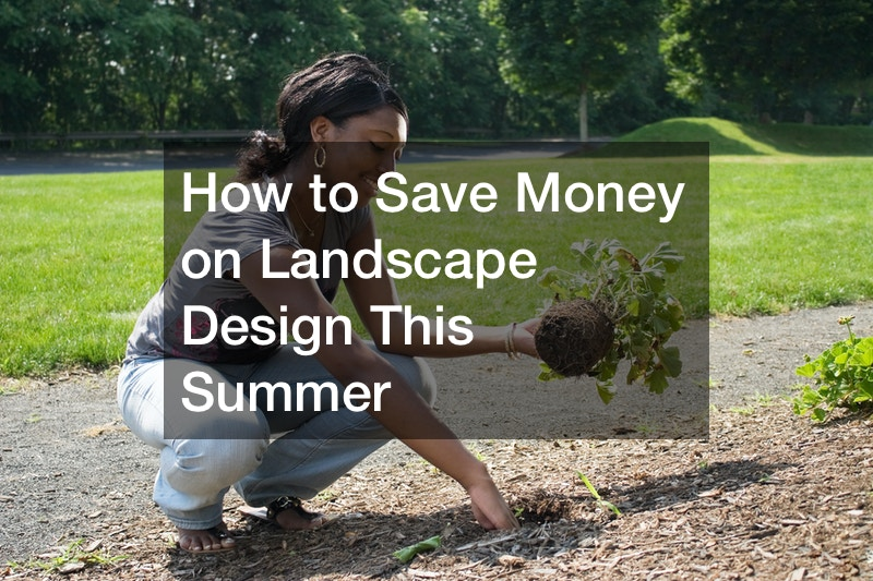 How to Save Money on Landscape Design This Summer